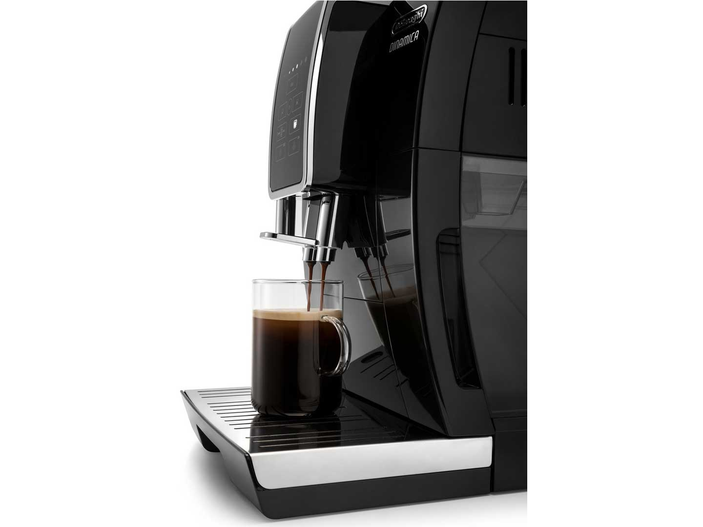 Dinamica Automatic Coffee & Espresso Machine with Iced Coffee, TrueBrew Over Ice, Black -  - ECAM35020B