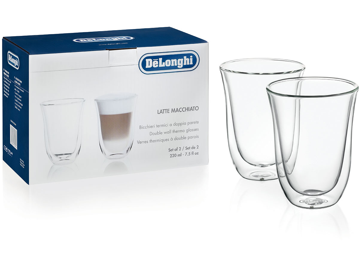 2 LATTE MACCHIATO GLASSES