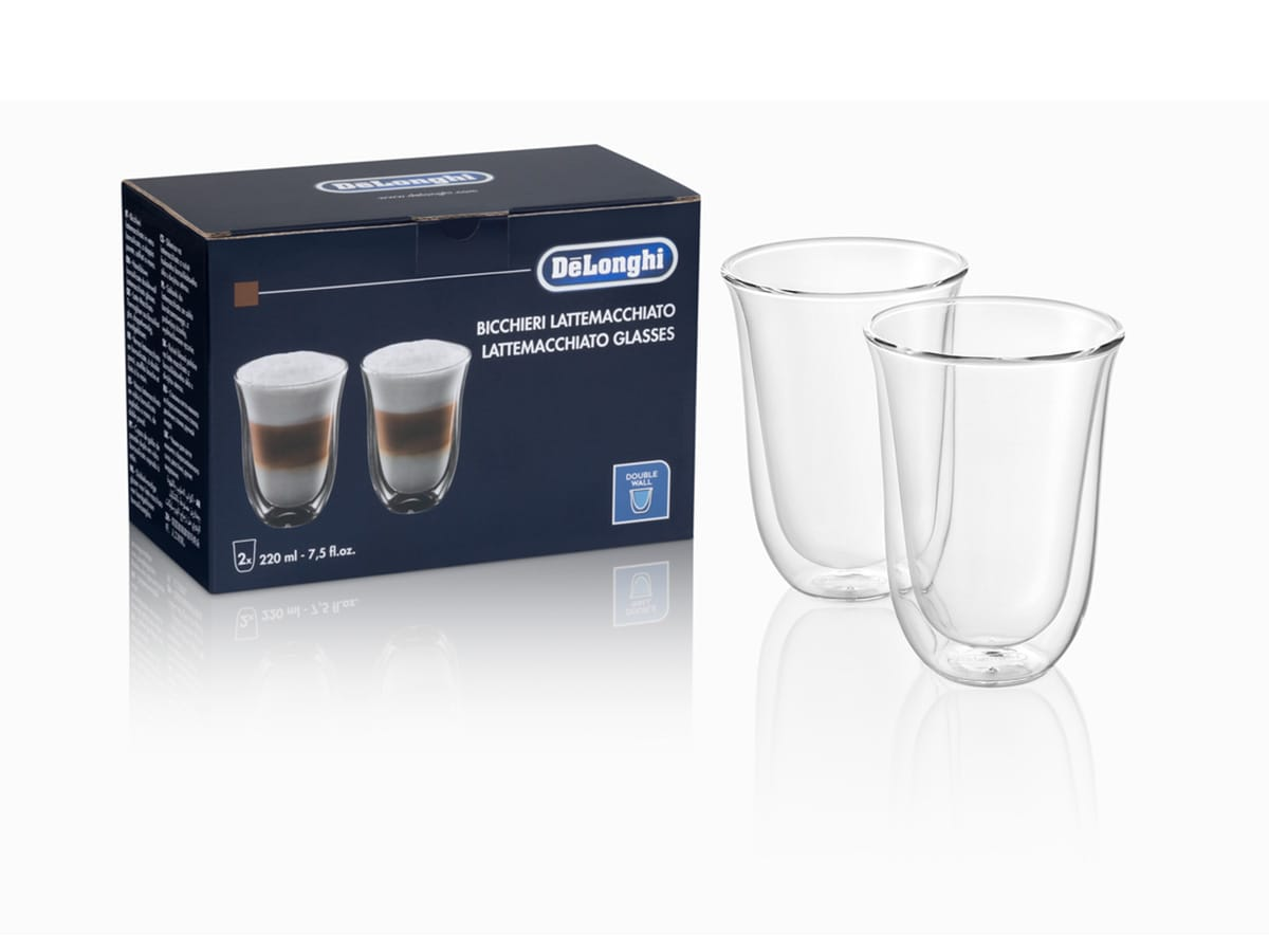 2 Lattemacchiato Double Wall Glasses