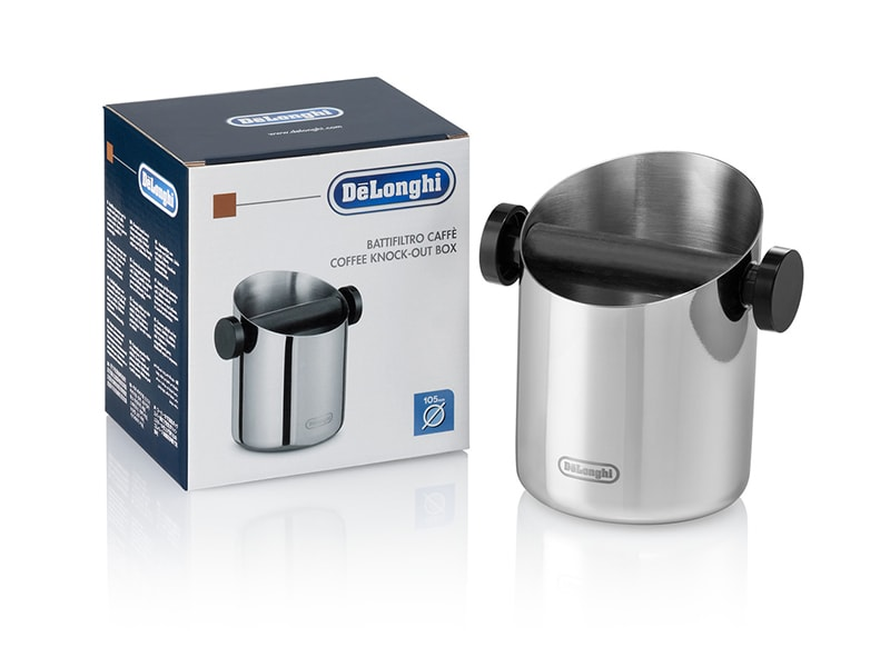 DeLonghi Stainless Steel Knock Box DLSC059