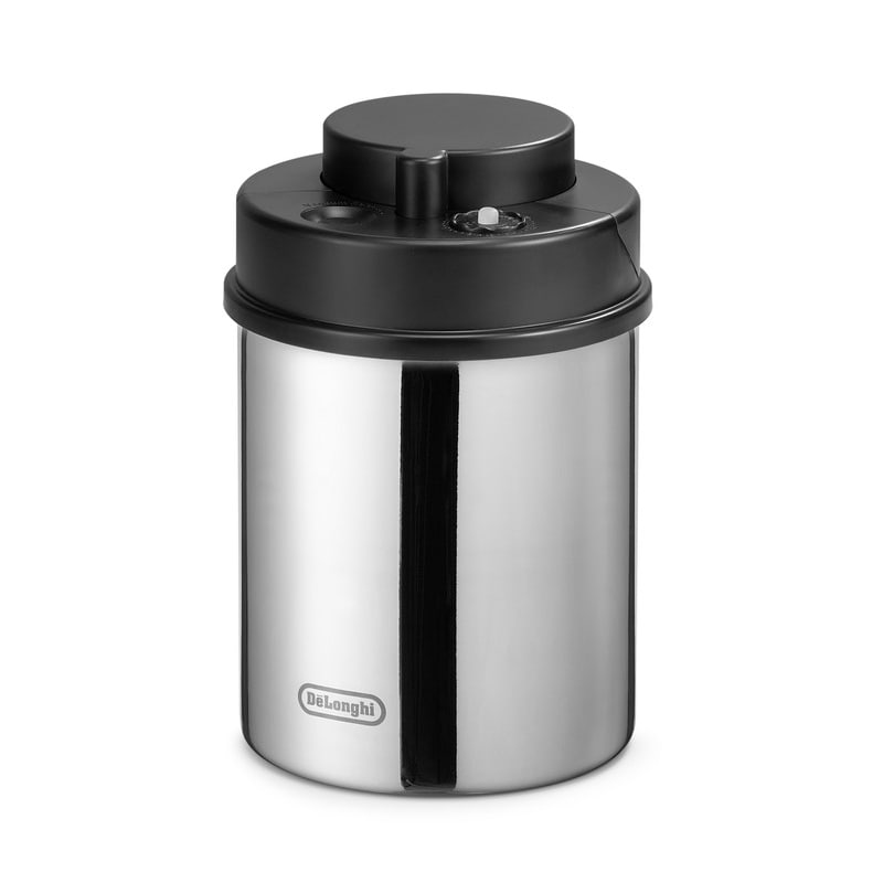 DeLonghi Manual Vacuum Sealed Coffee Canister DLSC063