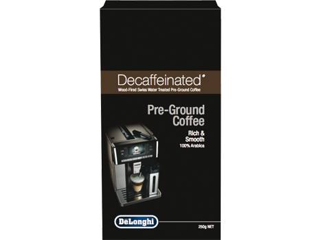 Decaf Pre-Ground Coffee 250g - DEDECAFF250G