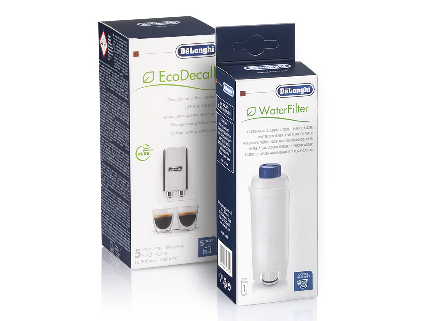 Water filter and EcoDecalk