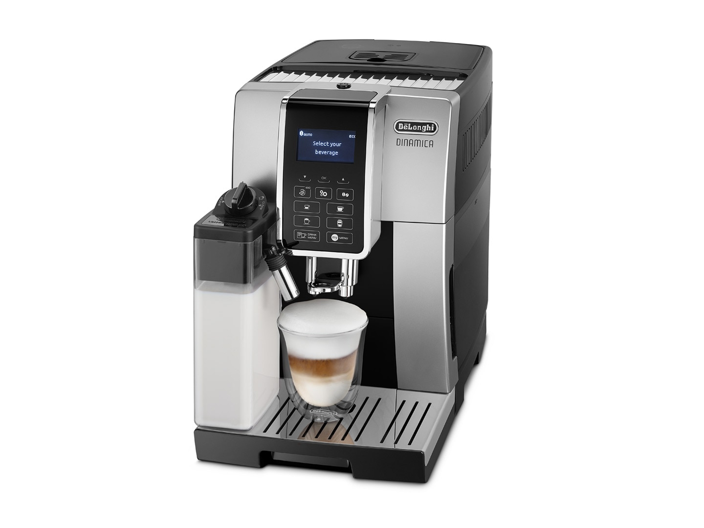 DeLonghi Fully Automatic Coffee Machine Dinamica ECAM 350.55.SB