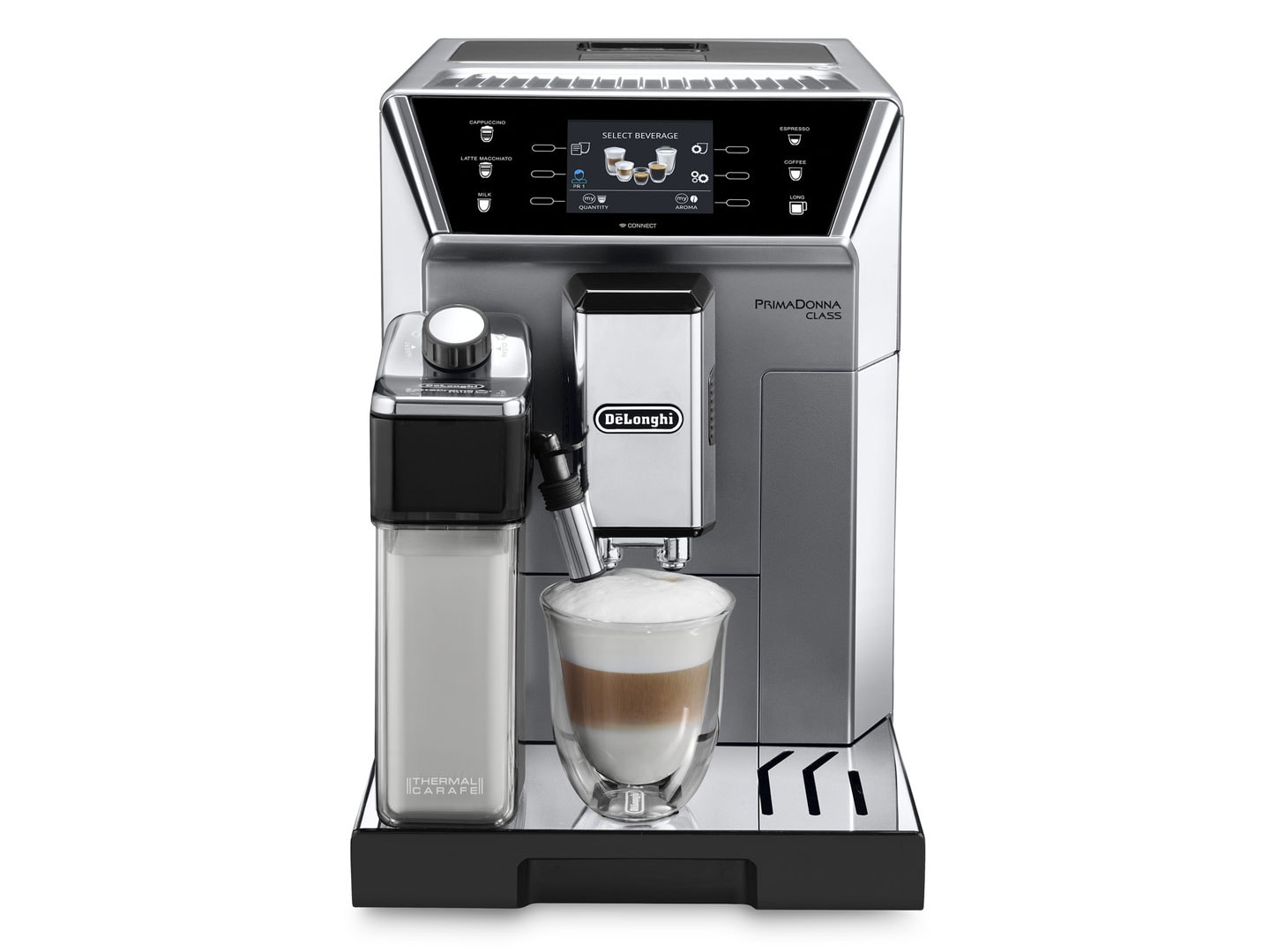 PrimaDonna Class ECAM 550.75.MS fully automatic coffee machine DeLonghi Australia