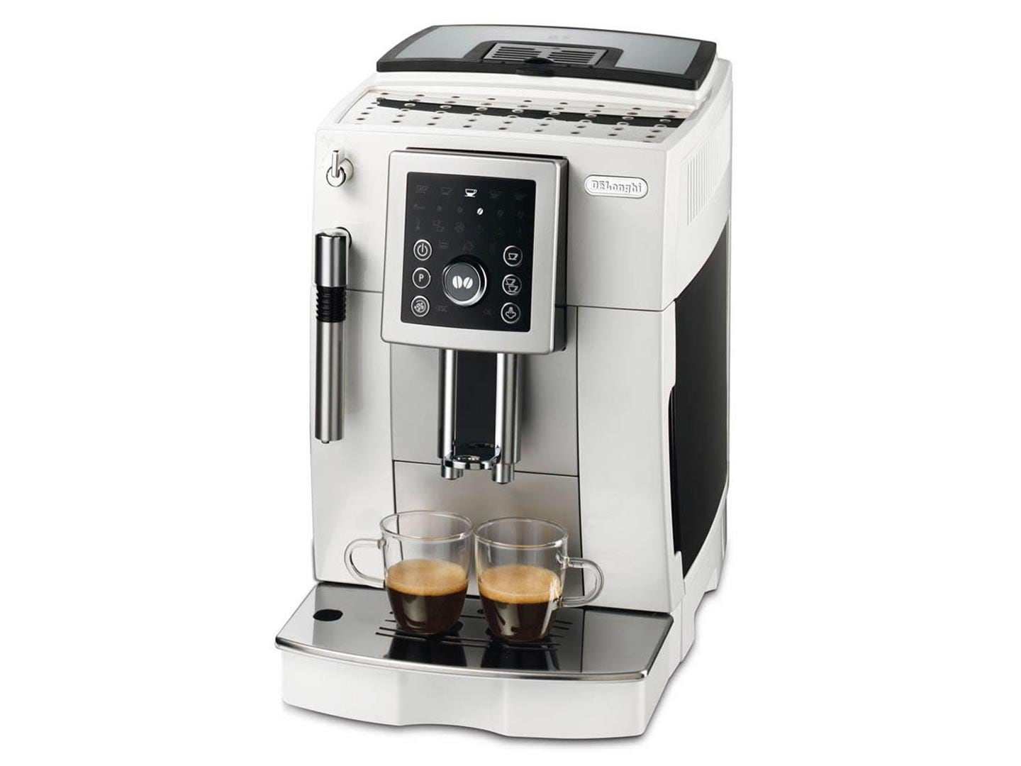 Factory Second: White Compact ECAM 23.210.W Fully Automatic Coffee Machine