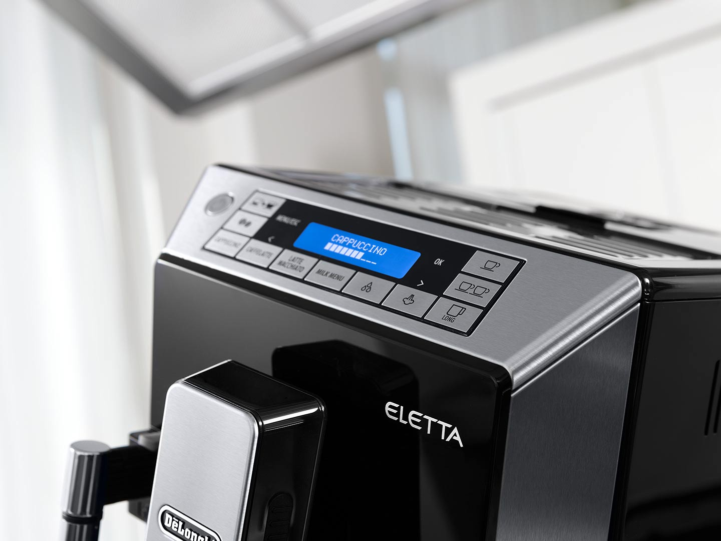 DeLonghi Fully Automatic Coffee Machine Eletta Cappuccino ECAM 45.760.B