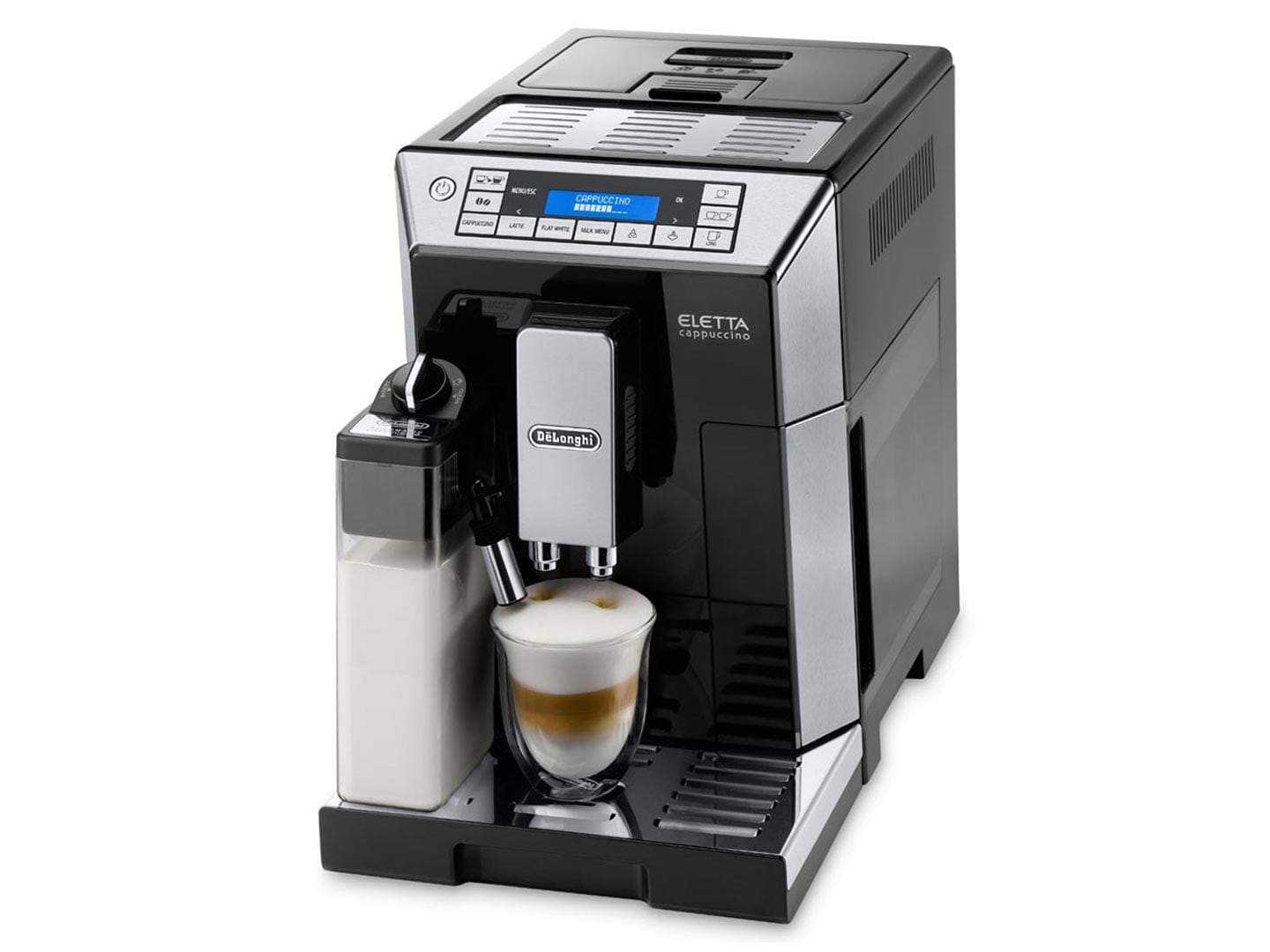 Electronic De Longi Coffee Machines fully automatic coffee machines makers delonghi australia eletta cappuccino ecam 45 760 b