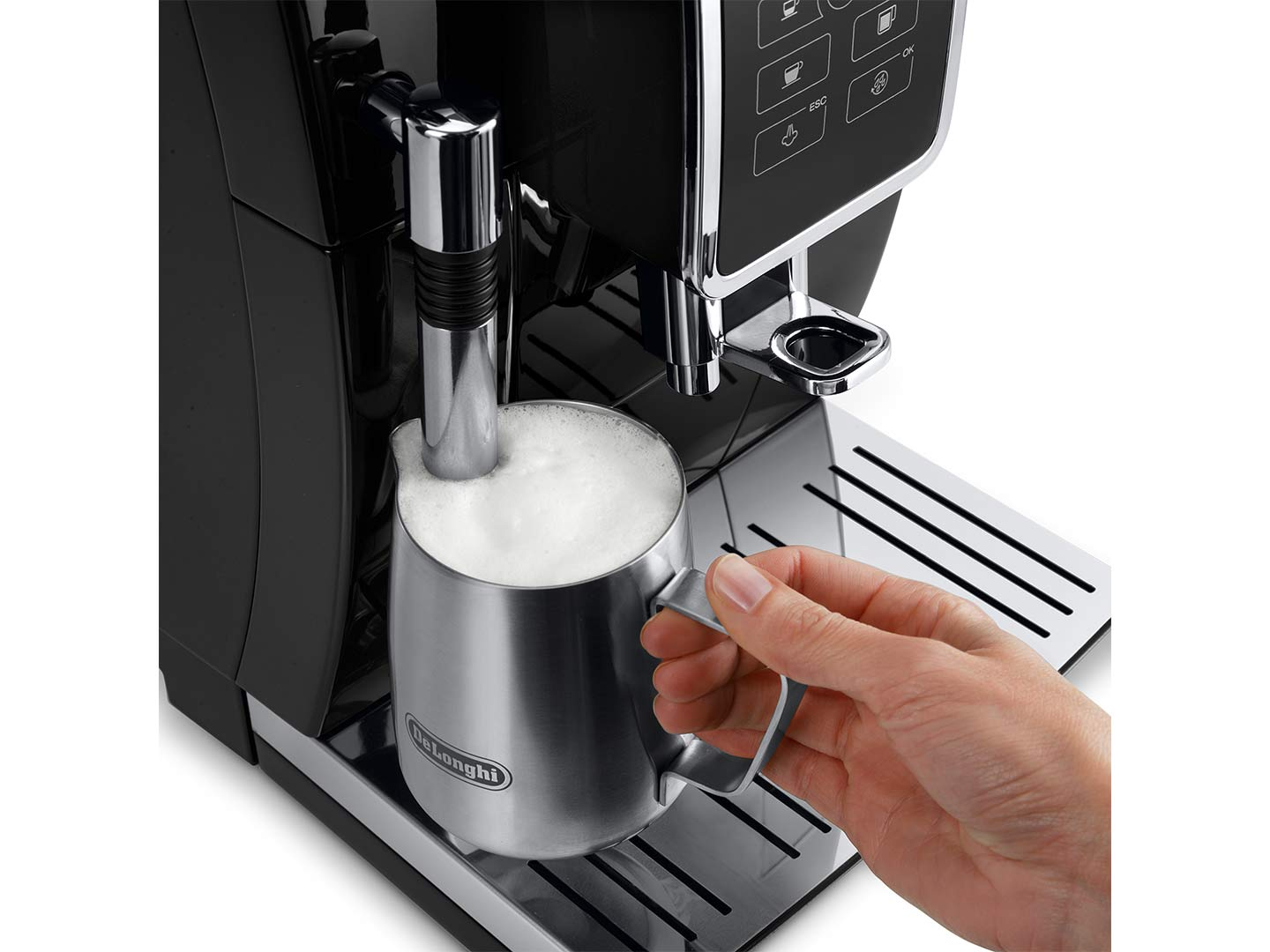 DeLonghi Dinamica ECAM 350.15.B Fully Automatic Coffee Machine