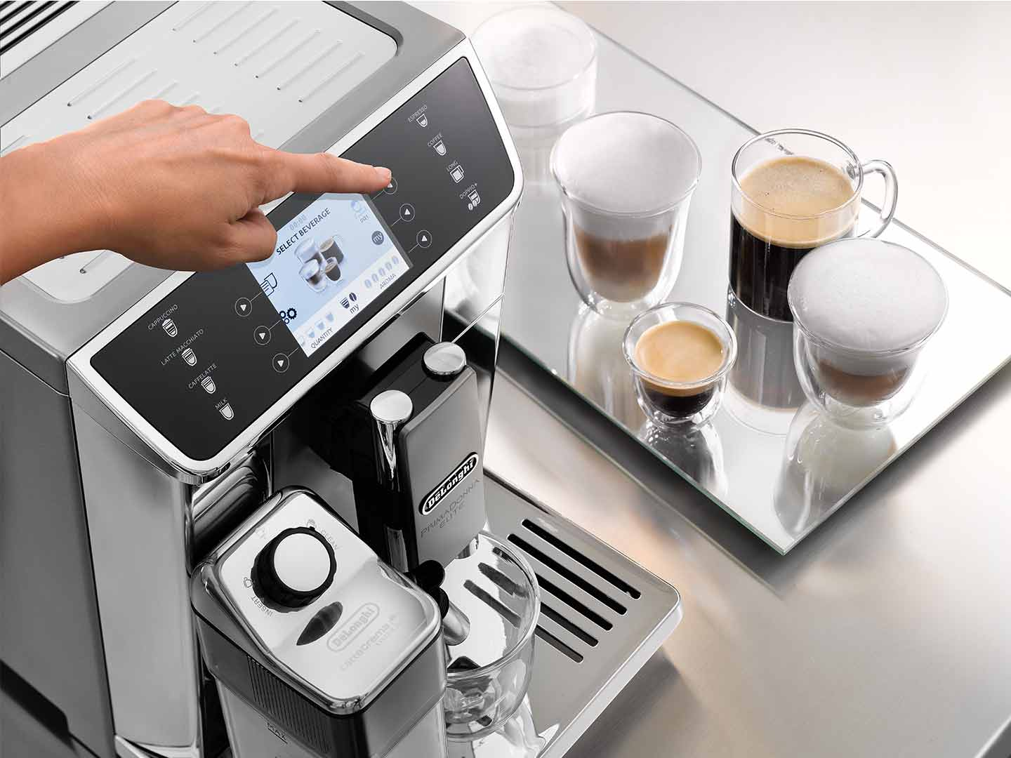 PrimaDonna Elite ECAM 650.55.MS Fully Automatic Coffee Machine