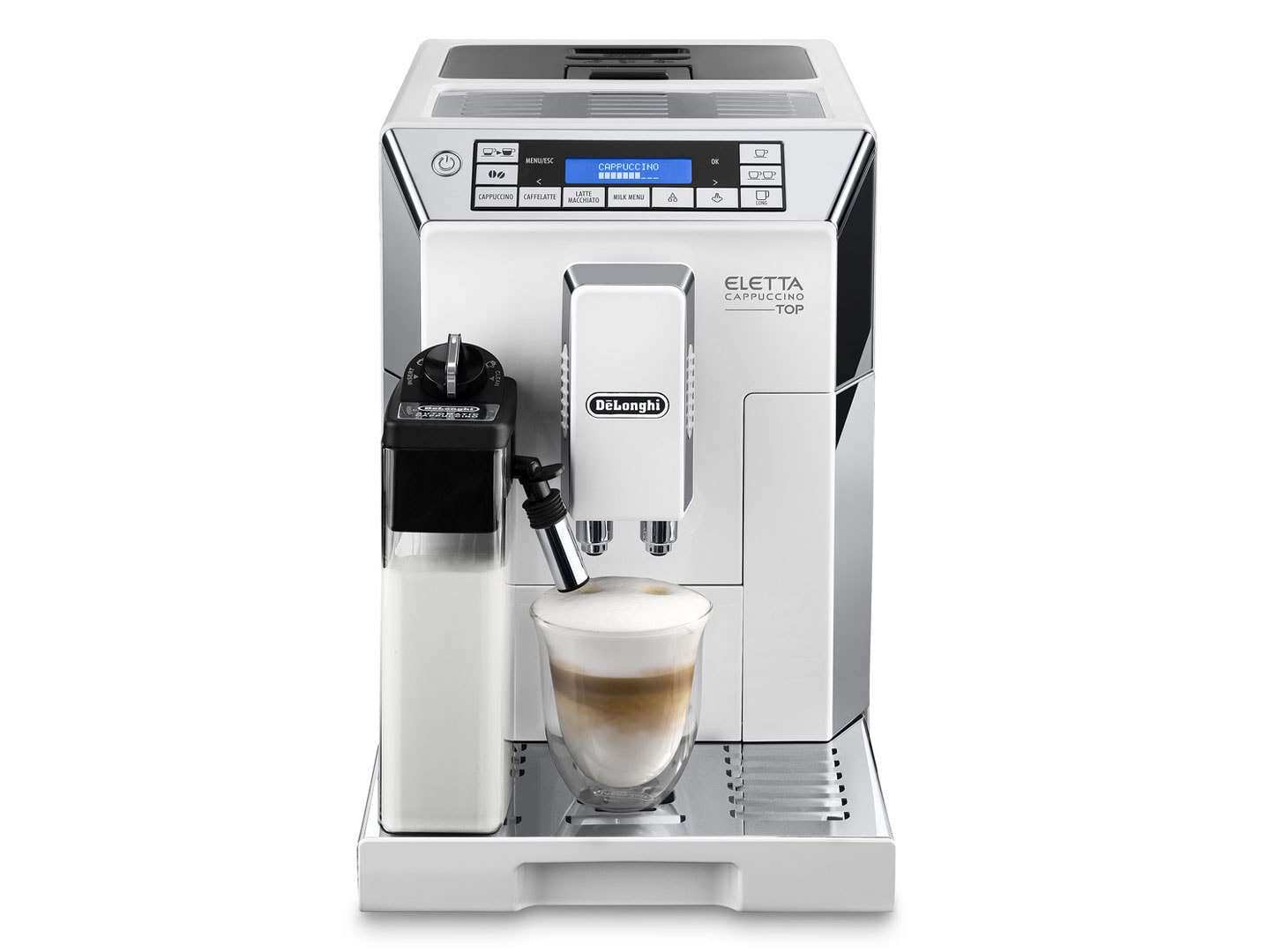 Eletta Cappuccino ECAM45760W fully automatic coffee machine