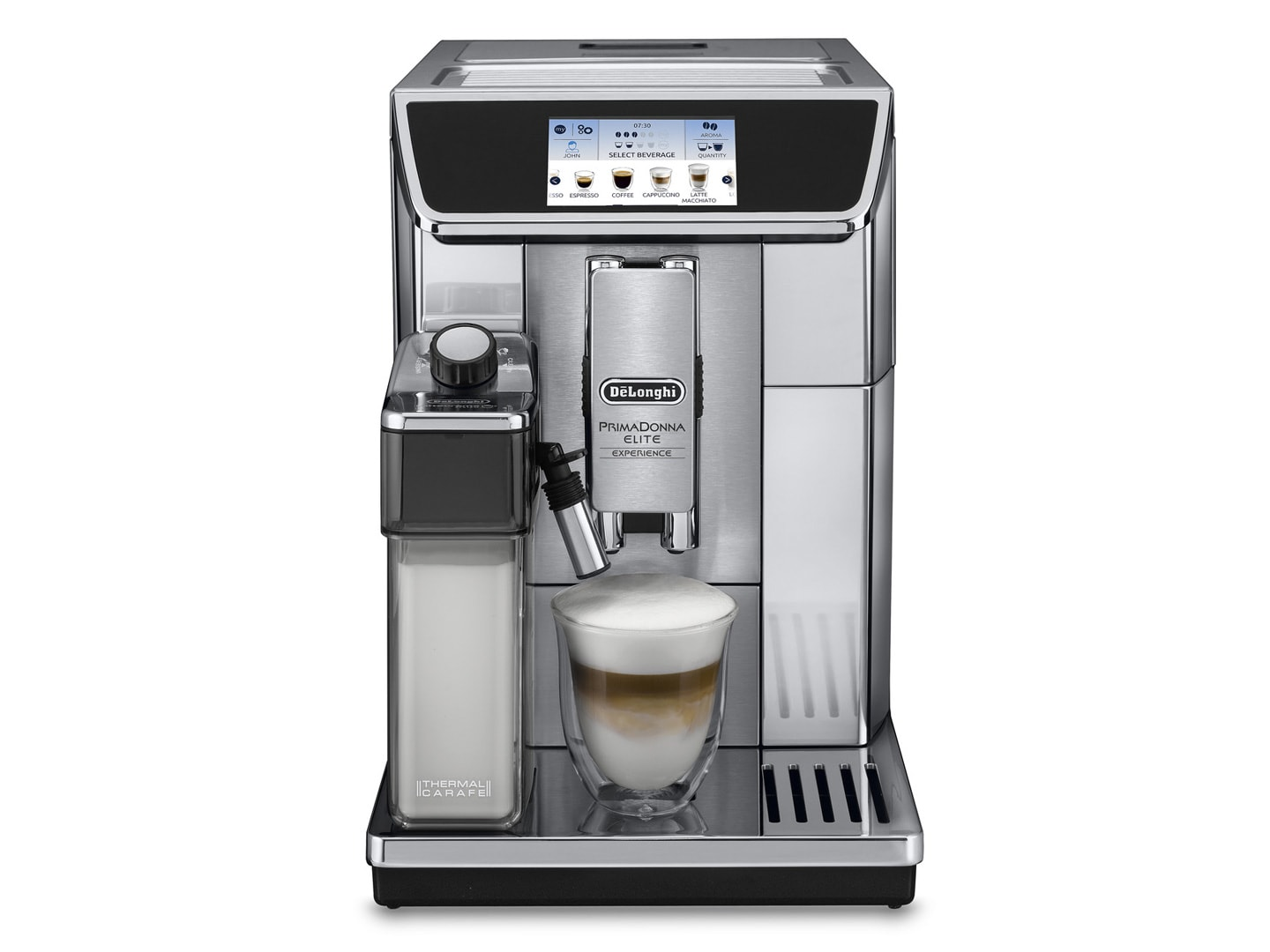 3dce82a4a59a PrimaDonna Elite Experience ECAM 650.85.MS - Fully Automatic Coffee Machine