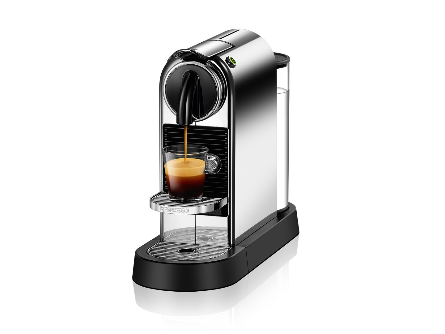 Nespresso CitiZ Espresso Maker by De'Longhi, Chrome