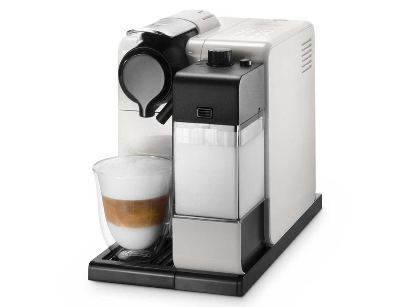 delonghi en550w lattissima touch nespresso coffee machine white ebay. Black Bedroom Furniture Sets. Home Design Ideas