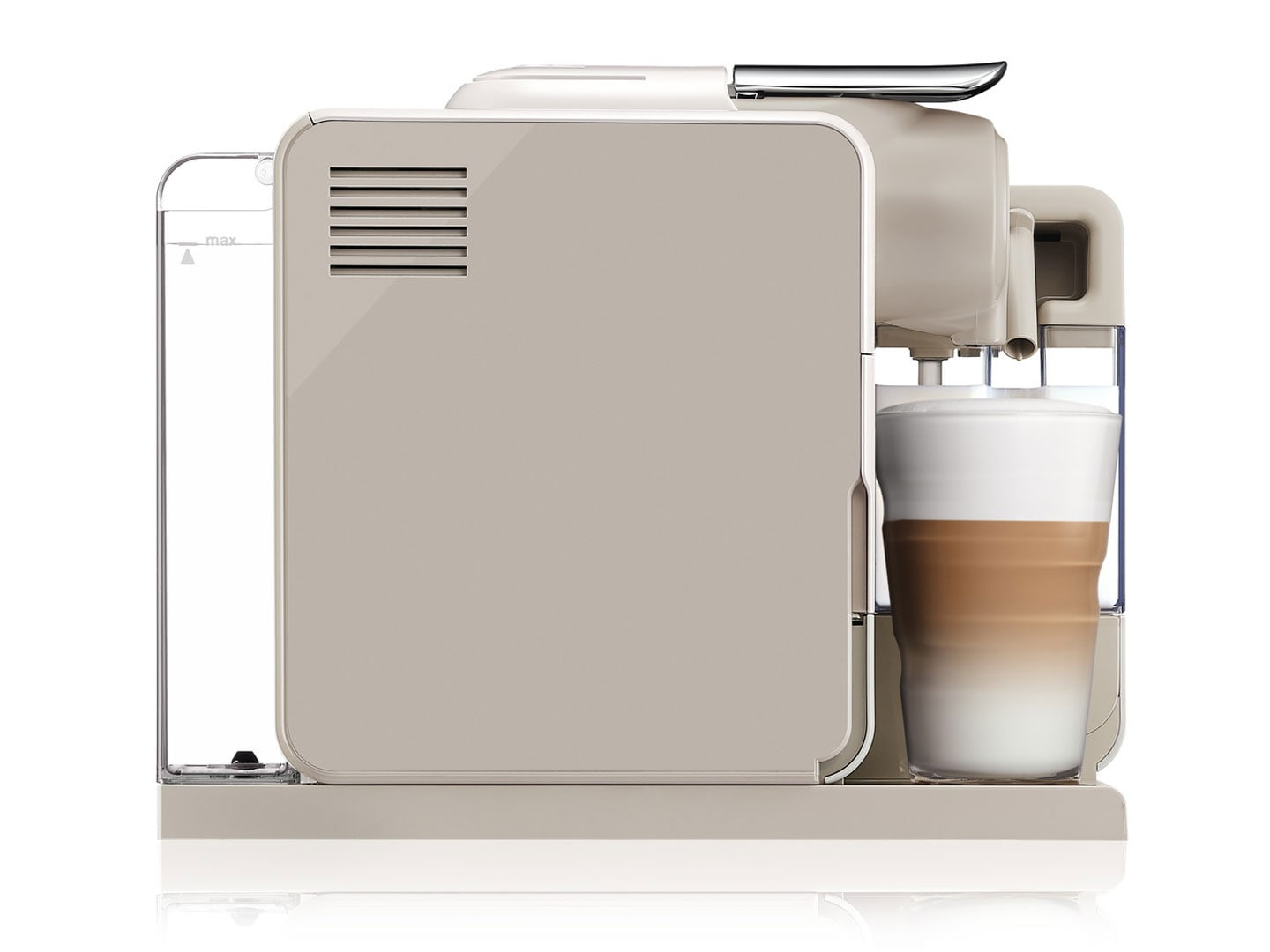 Nespresso Lattissima Touch Espresso Machine by De'Longhi, Creamy White  - EN560WCA