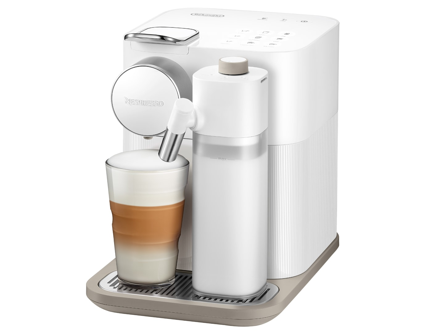 DeLonghi Nespresso Capsule Coffee Machine Gran Lattissima EN650.W