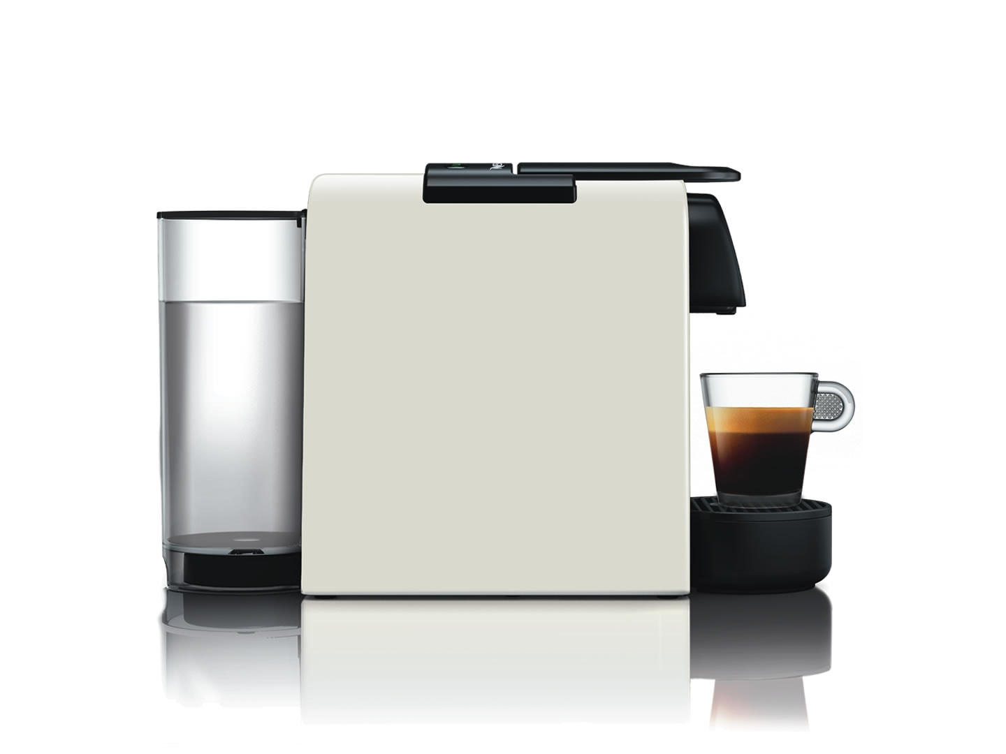 DeLonghi Nespresso Essenza Mini EN85.W SOLO Side