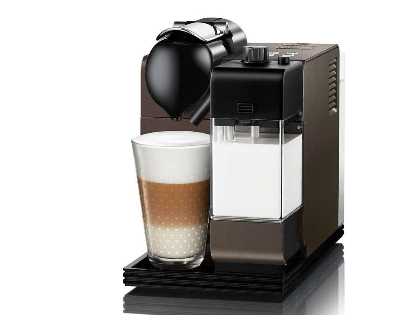 Lattissima + EN 520.DB Capsule Coffee Machine