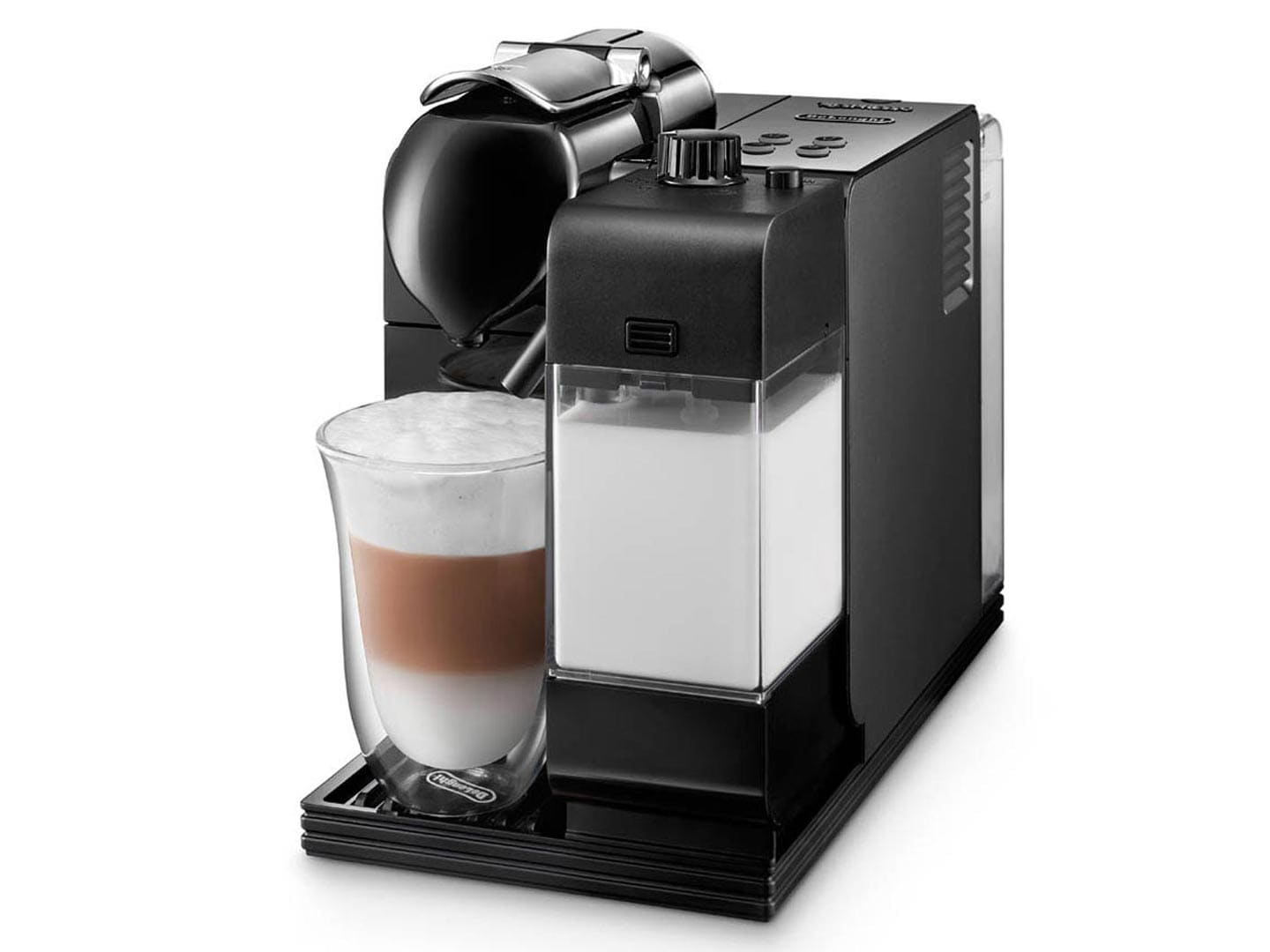 nespresso en520b coffee maker delonghi lattissima black en520bk prices and ratings. Black Bedroom Furniture Sets. Home Design Ideas