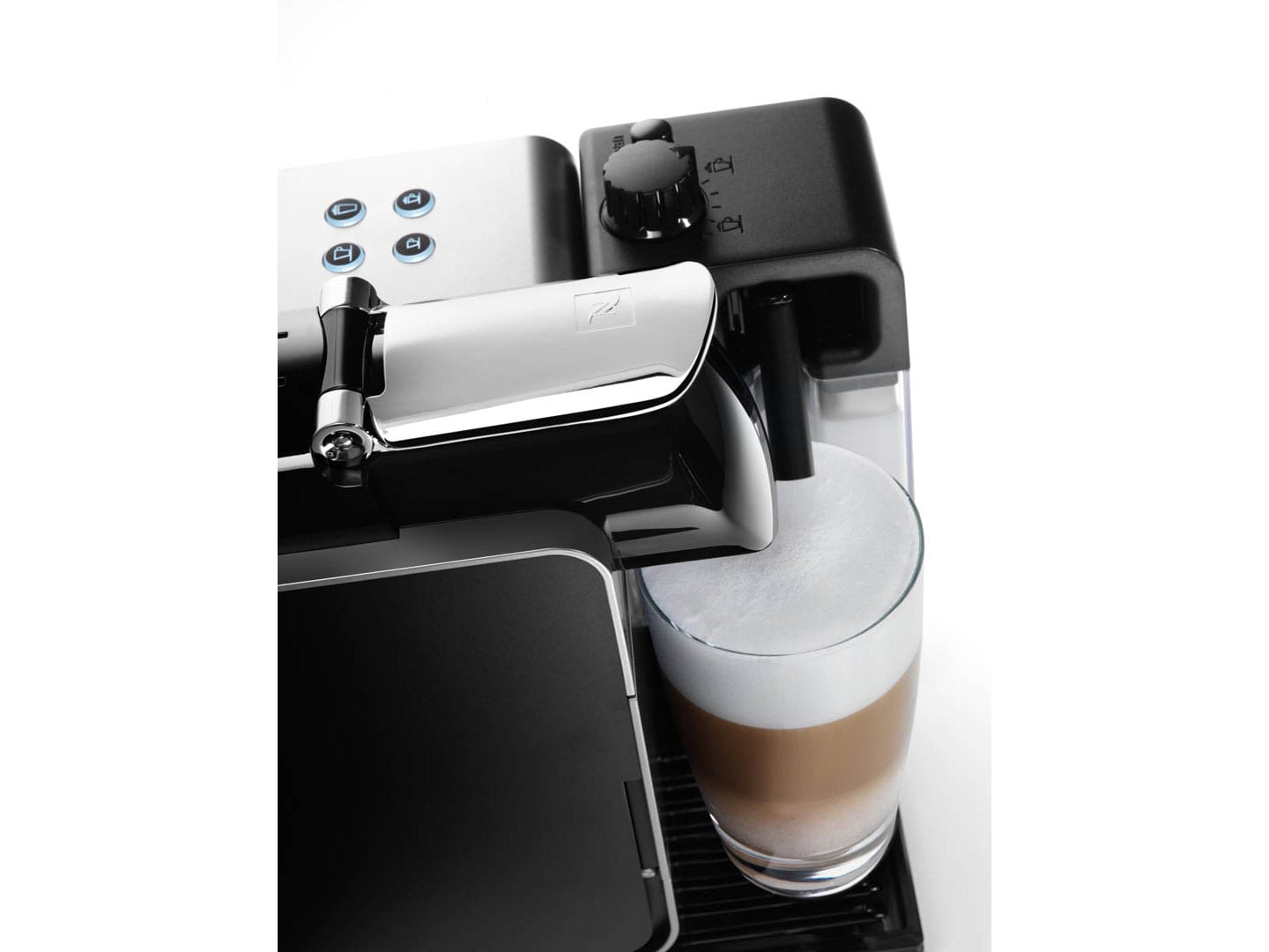 Nespresso Lattissima Plus Latte, Cappuccino, and Espresso Machine by De'Longhi, Silver  - EN520SL