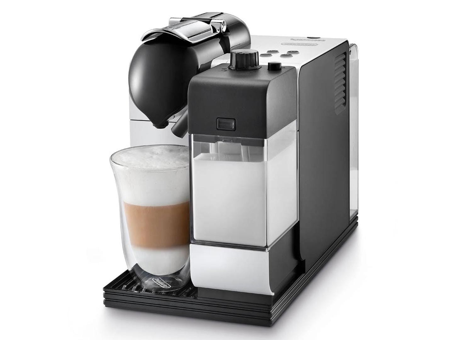 Delonghi nespresso lattissima coffee machine en520w ebay - Machine a cafe nespresso ...