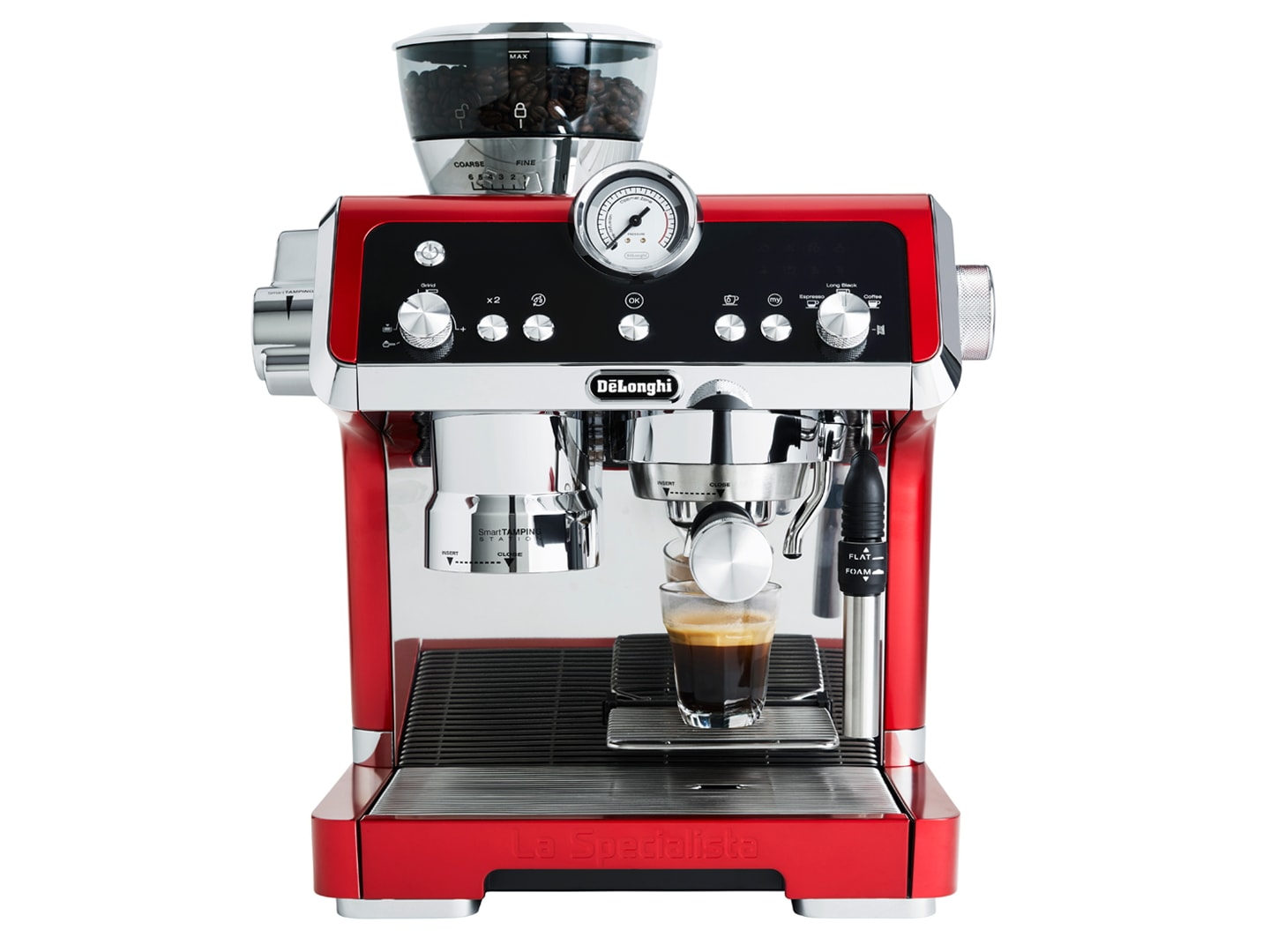 DeLonghi La Specialista EC9335.R Pump Espresso Coffee Machine in Red