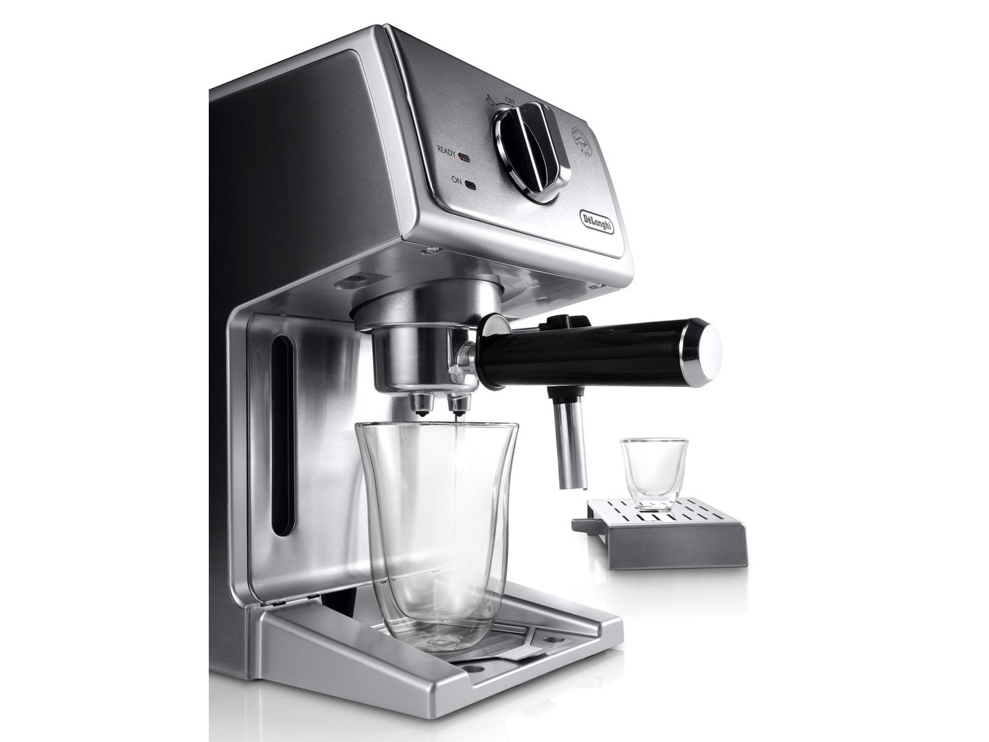 Delonghi 15 Bar Pump Espresso Latte Cappuccino Maker Stainless Steel ECP3630