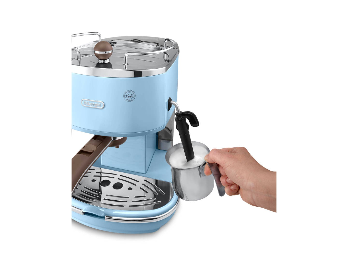 How To Use Vintage Coffee Maker : Delonghi ECOV311 Icona Vintage Coffee Maker (blue) Lazada Singapore