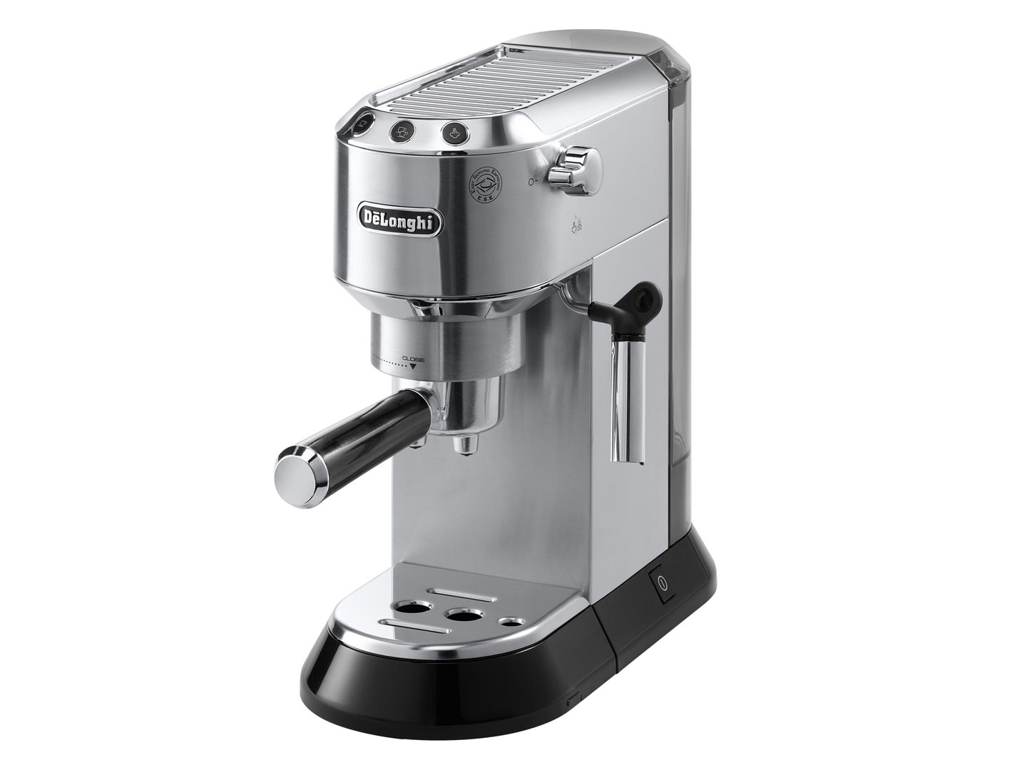 DeLonghi EC680 Dedica 15 Bar Stainless Steel Slim Espresso and Cappuccino Machine with Advanced Cappuccino System Red