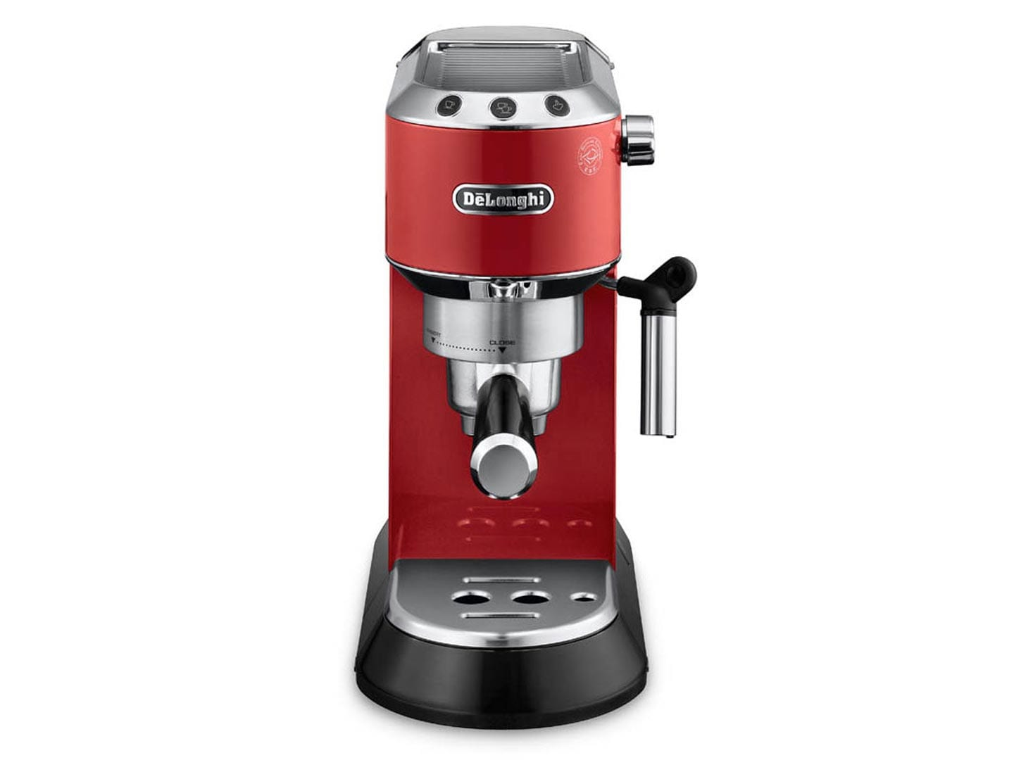Dedica Manual Espresso Machine - Red -  - EC680R