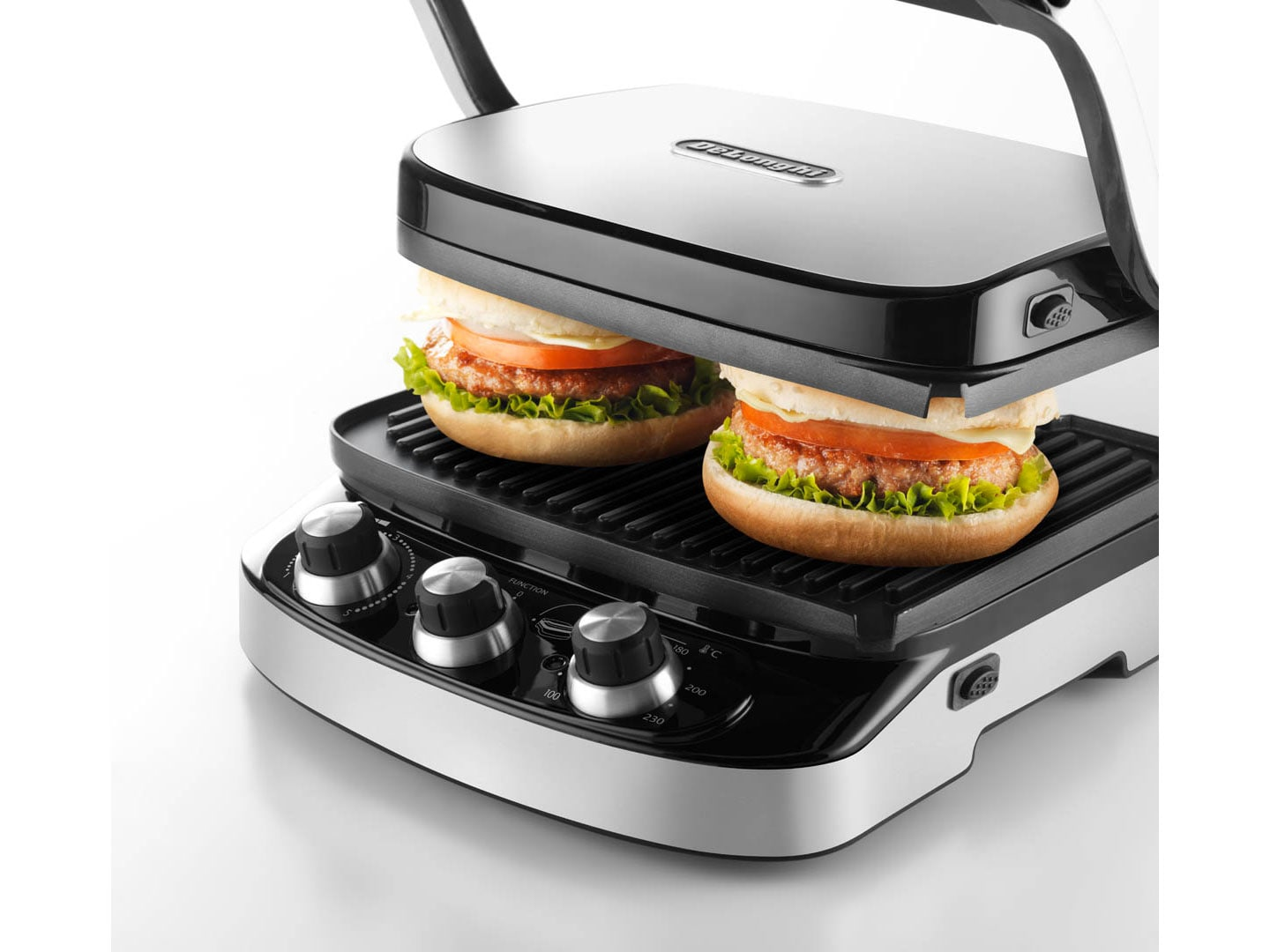 5 In 1 Indoor Grill Griddle Panini Press Cgh902