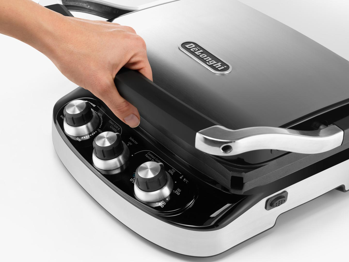 5-in-1 Indoor Grill, Griddle, Panini Press - - CGH902C