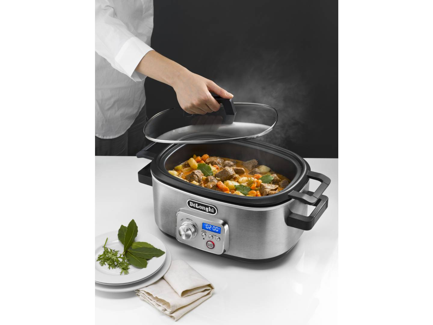 Livenza Programmable Slow Cooker with Stovetop Safe Cooking Pot - 6 Quart -  - CKS1660D