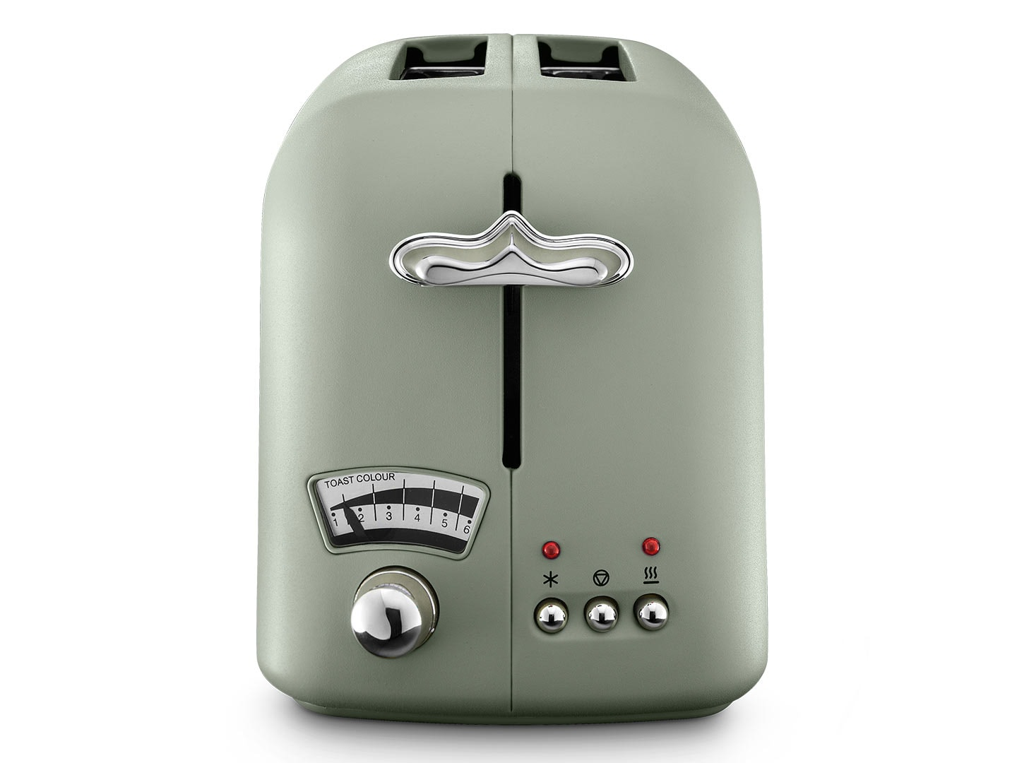 DeLonghi Argento Flora 2 Slice Toaster Peppermint Green CT02GR