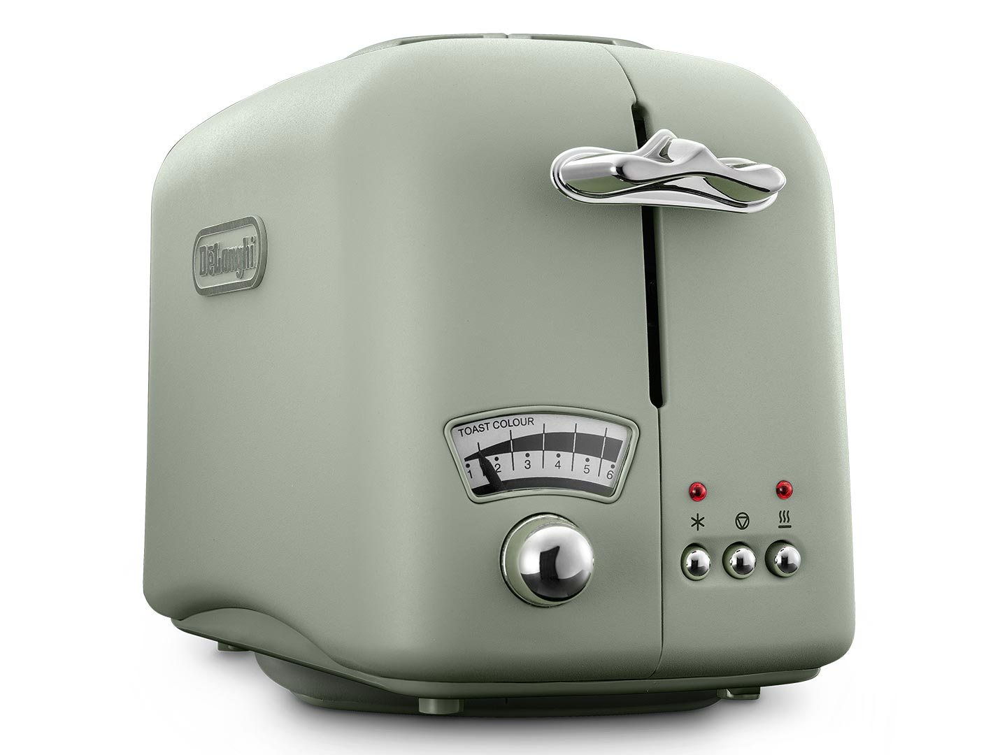 Clearance Stock: Argento Flora 2 Slice Toaster – Peppermint Green - CT02.GR