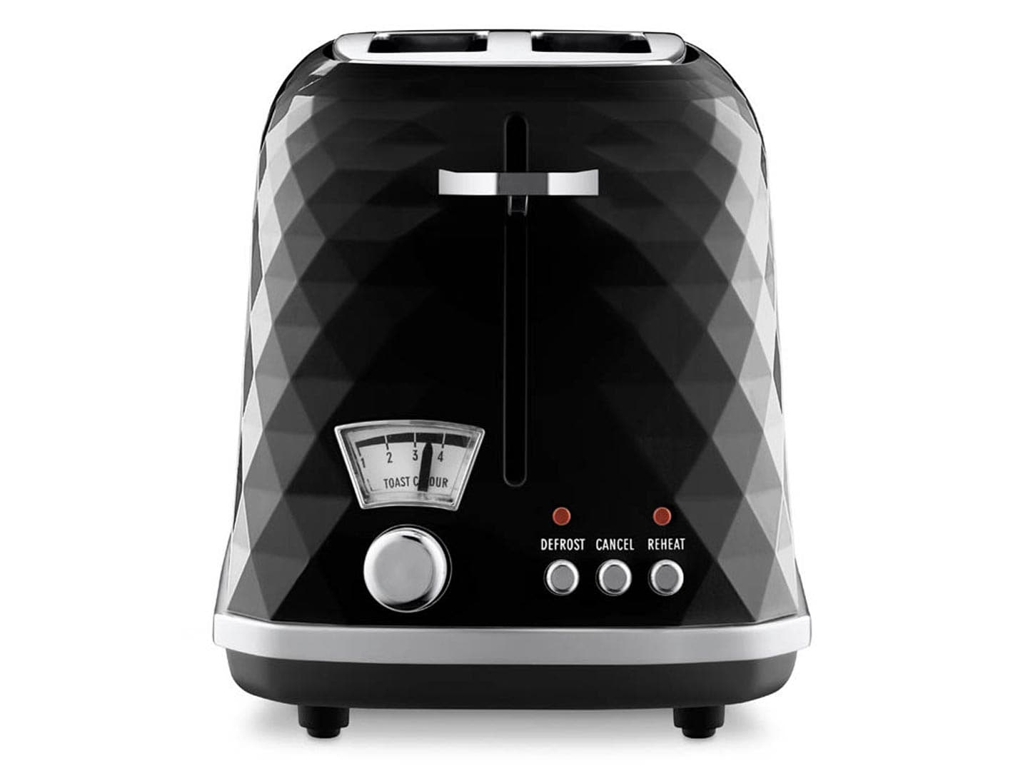 Clearance Stock: Brillante 2 Slice Toaster CTJ 2003.BK Black - CTJ 2003.BK