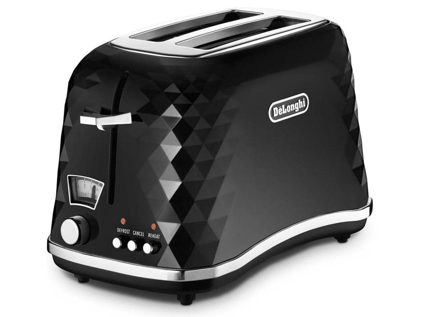 Brillante Black 2 slice Toaster - CTJ2003BK