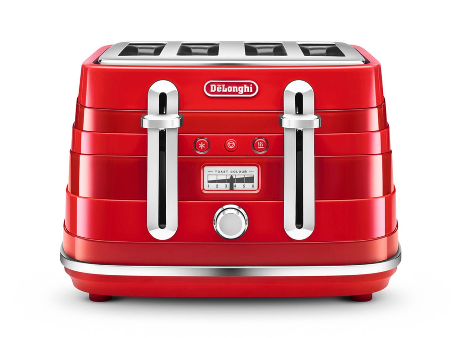 Avvolta 4 Slice Toaster - Red CTA 4003.R
