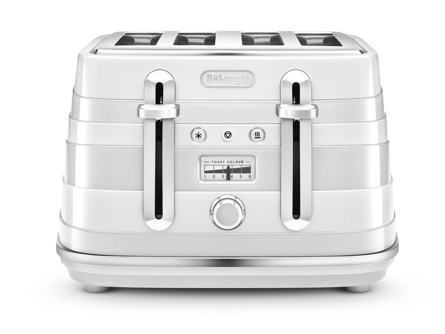 Clearance Stock: Avvolta 4 Slice Toaster - White CTA 4003.W