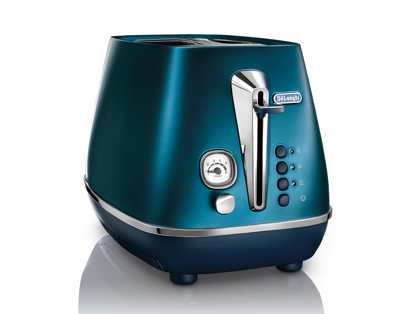 DeLonghi Distinta Flair 2 Slice Toaster Prestige Blue CTI2003BL