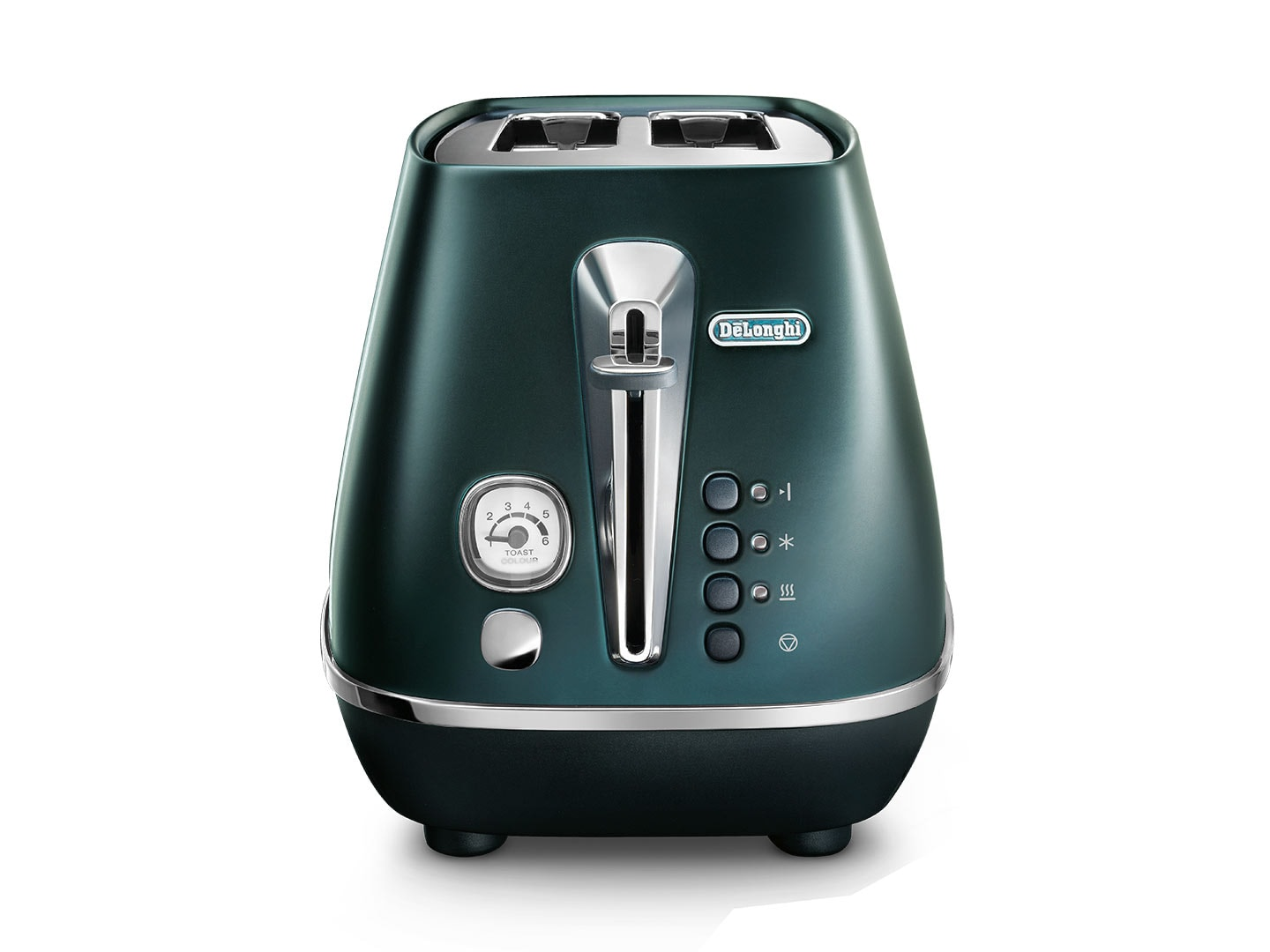 DeLonghi Distinta Flair 2 Slice Toaster - Allure Green CTI2003.GR