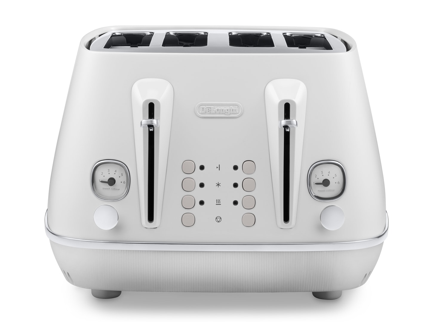 DeLonghi Distinta Moments 4 Slice Toaster White CTIN4003.W
