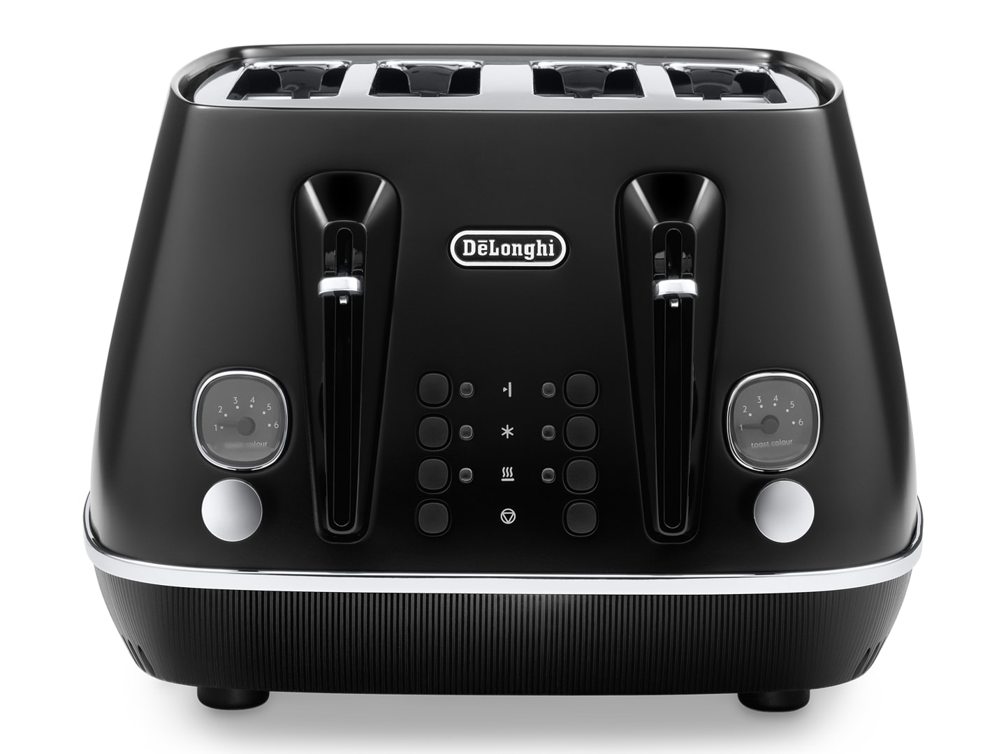 DeLonghi Distinta Moments 4 Slice Toaster Black CTIN4003.BK