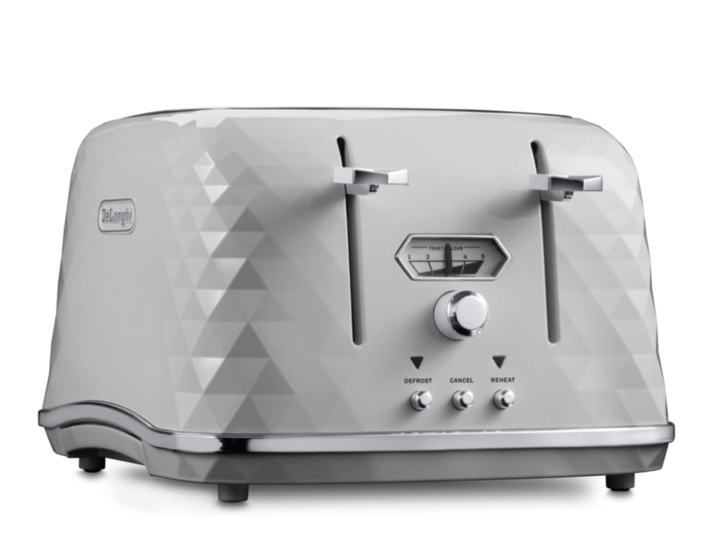 DeLonghi Brillante Exclusive 4 Slice Toaster White CTJX4003W