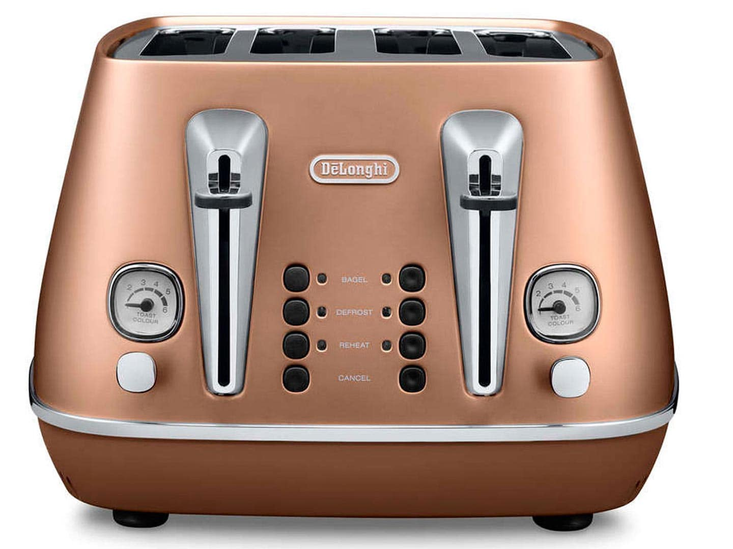 Clearance Stock: Distinta 4 slice toaster - Style Copper CTI 4003.CP