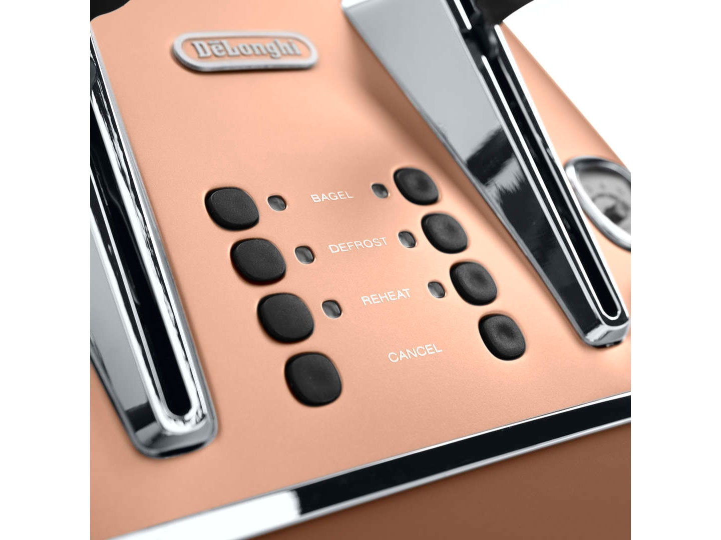 Clearance Stock: Distinta 4 slice toaster - Style Copper - CTI 4003.CP