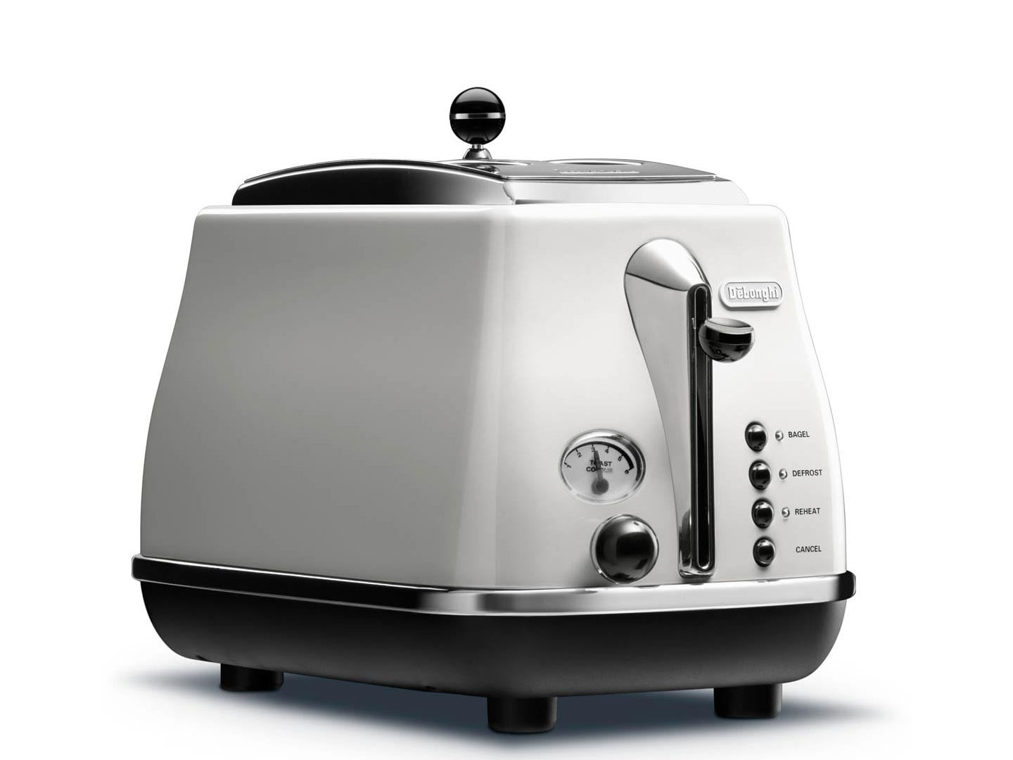 Clearance Stock: Icona 2 Slice Toaster - White - CTO 2003.W