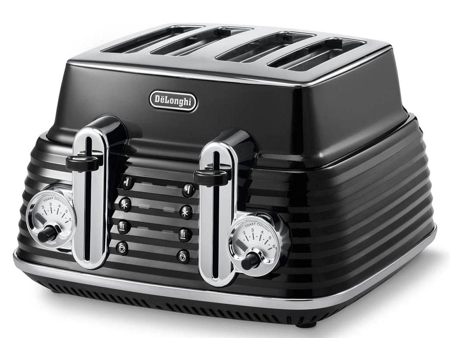 Scultura 4 Slice Toaster - Carbon Black