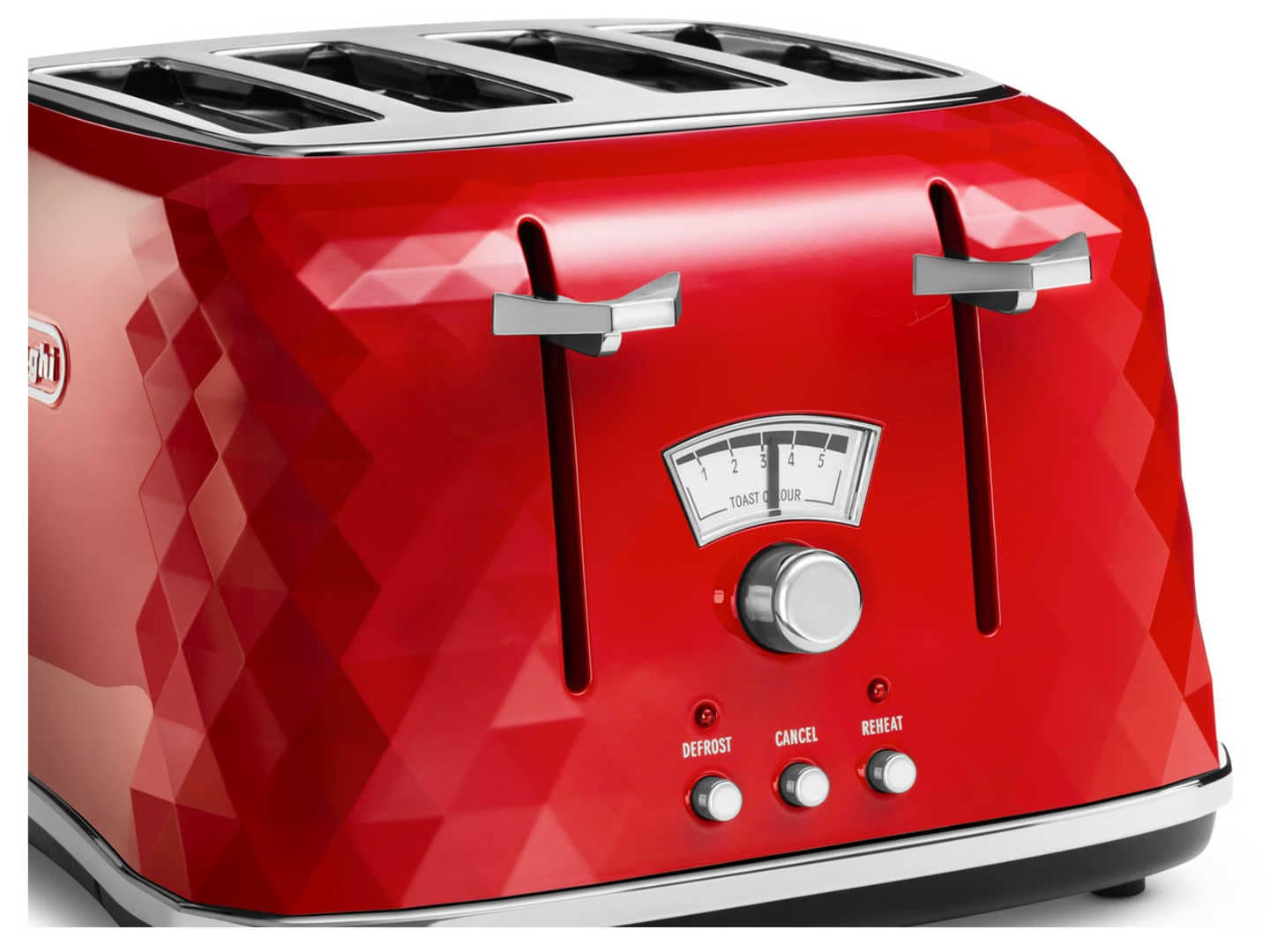 Brilliante 4 Slice Toaster - Red CTJ 4003.R