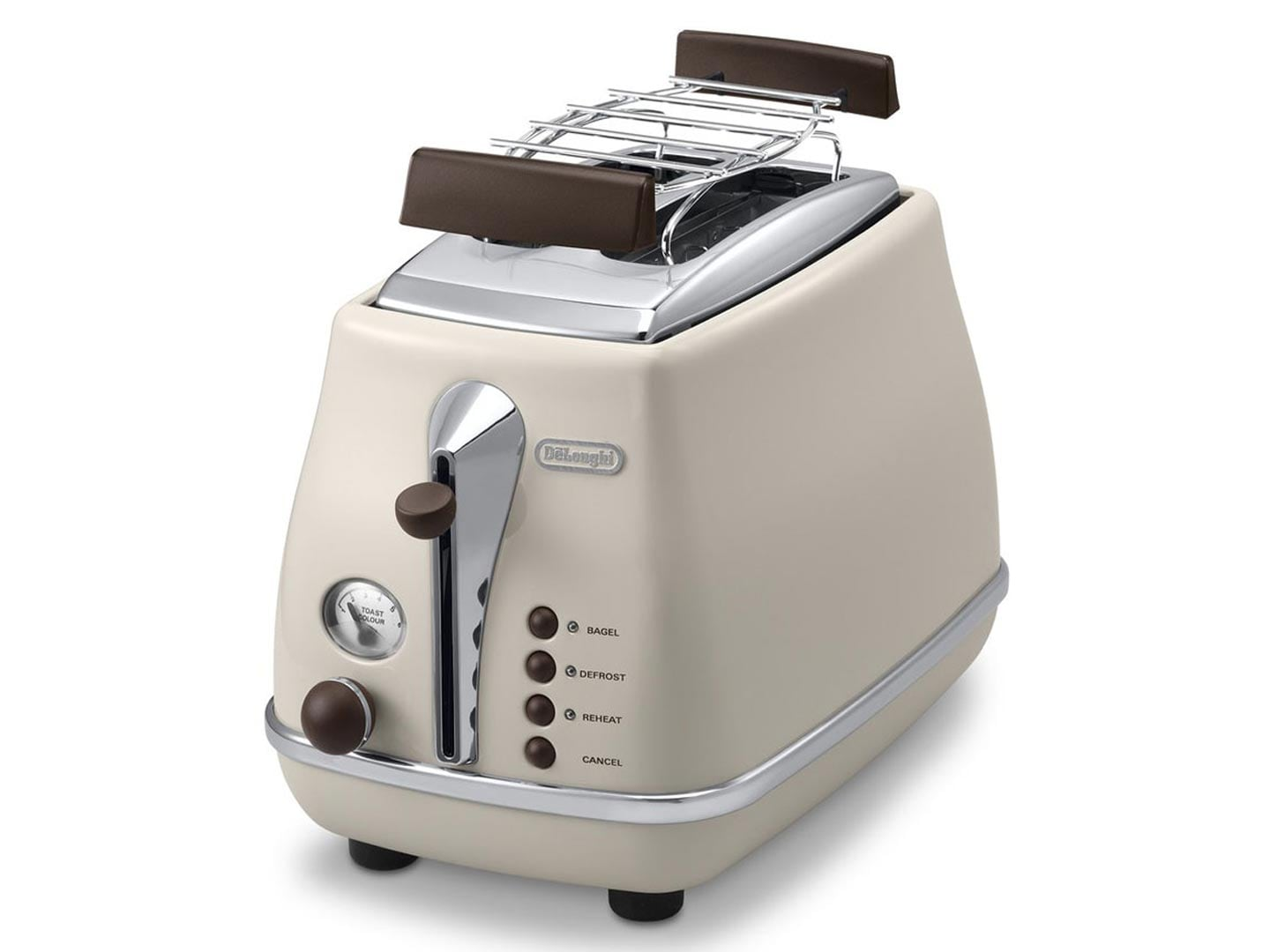 delonghi ctov 2103 bg toaster icona vintage creme radio. Black Bedroom Furniture Sets. Home Design Ideas